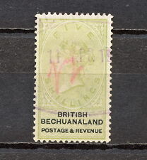 (NNAW 122) BECHUANALAND 1887 USED