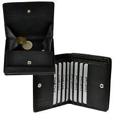 AMARI Geldbörse mit RFID-Blocker Portemonnaie klein Geldbeutel Wiener Schachtel
