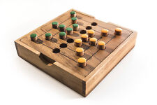 Kubiya Games | Nine Man Morris - strategy board game for two players, Mill Game