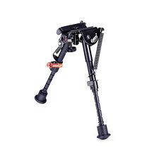 "Zeadio 6""-9"" Adjustable Spring Bipod for Hunting Air Rifle Gun UK"