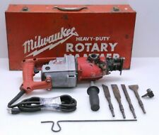 Milwaukee 5300 Heavy Duty Industrial Rotary Hammer With Bits - TESTED