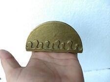 Vintage Brass Bronze Beer Coaster Holder Rare Collectible Diwali Home Decor