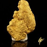 XXL GOLDNUGGET Australien 10,64 Gramm 20-23 kt Gold Barren Münze Geschenk 944