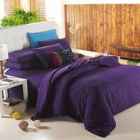 3D Purple Girl 788 Bed Pillowcases Quilt Duvet Cover Set Single Queen King CA