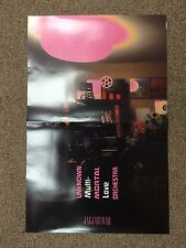 "UNKNOWN MORTAL ORCHESTRA Multi-Love Original Unused Promotional Poster 11""x17"""