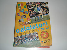 MANCOLISTE FIGURINE PANINI -CALCIATORI 1980-81- REC.- REMOVED FROM AN ALBUM