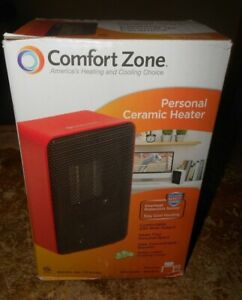 2019 red comfort zone model CZ410RD ceramic heater 200 watts in the box new