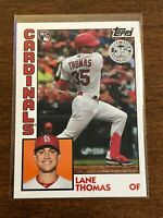 2019 Topps Update Baseball '84 Topps - Lane Thomas RC - St. Louis Cardinals