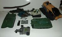 GI Joe 1980s VINTAGE Vehicle Plane Lot - Mattel RAIDER TANK + Slaughter 80's **