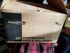 Champion Sporting Clays Skeet & Trap Targets 2 Boxes Of 135