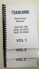 KALMAR DCE 90–180 DCE 70-32E3 DCE70-35E4 WORKSHOP SERVICE MANUAL REPRINTED 2006