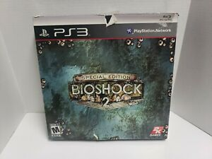 NEW PS3 Playstation: BIOSHOCK 2 Special Edition game rare factory sealed!