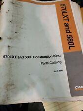 Case 580l Backhoe 570lxt Landscape Loader Parts Manual Book Catalog Free Shippin