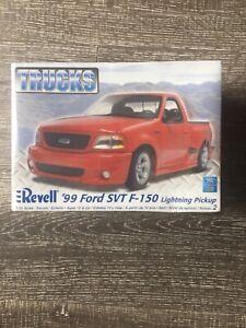 Revell 99 Ford SVT F150 Lightning 1/25 Trucks Pickup Truck NIB Free USA Shipping