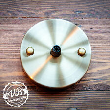 Vintage metal ceiling rose #1 retro style light fitting 10 finishes