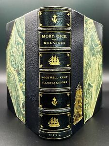 Moby Dick - FIRST EDITION - Fine Binding - Herman MELVILLE / Rockwell KENT 1930