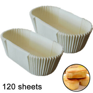 Cake Paper Cups Cupcake Liners Rectangular Non-stick Disposable Baking Paper Cup