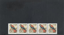 United States 3044 Mnh Plate Strip 5 Plate 1111 2019 Scott Catalogu Value $0.65