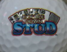 (1) DOUBLE DOWN STUD POKER CASINO LOGO GOLF BALL