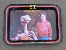 old E.T. The Extra Terrestrial movie RV dinner tin tray