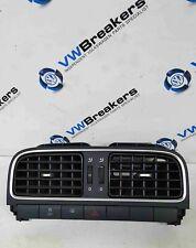 Volkswagen Polo 6R 2009-2014 Centre Heater Vent Hazard Traction Button