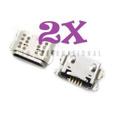 2X LG K40 X420 LMX420MM LMX420QN LMX420 Dock Connector USB Charger Charging Port