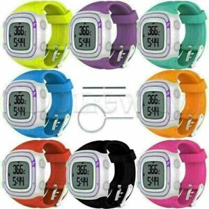For Garmin Forerunner 10 15 Silicone Men&Women's Watch Band Strap Replace Part
