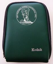 Vintage KODAK Green Faux Leather Case Hand Loop National Parks Centennial 1972