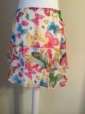 Karen Millen 10 Skirt Butterfly Spring Summer Butterfly