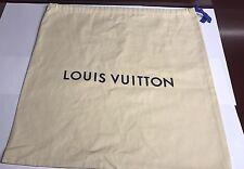Authentic Louis vuitton moyen nouveau sac sac à poussière + Sac shopping. Épais Tissu