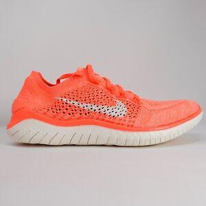 Nike Free RN Flyknit 2018 Running Shoes Crimson Pulse 942839-801 Women's Size 11
