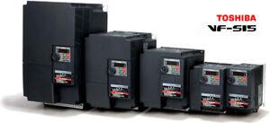 INVERTER TRIFASE TOSHIBA per MOTORE VFS154037PL-W1 400V HP 5,5 kW 4.0
