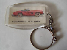 ANCIEN PORTE CLES BISCUITERIE CHERBOURGEOISE MERCEDES BENZ 300 SL ROADSTER