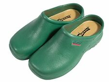 Town & Country Classic Cushioned Cloggies Garden Shoes in Green | Size 4