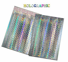 6x10 Metallic Bubble Mailer Poly Bubble Design Padded Shipping Bags Pinkteal