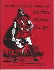 The Blue Book Illustrations of Herbert Morton Stoops Book Soft Cover