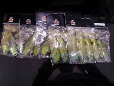 "bulk sale 25 pre-rigged soft plastic fishing lures BRAND NEW 4"" ,Fatty lure"