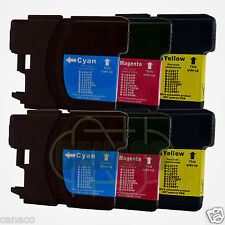 6Color LC61 Ink Cartridge for Brother MFC-490CW Printer