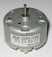 Mabuchi RF-500 Motor  -  1.5 to 12 VDC   -  Solar Motor - Mabuchi RF-500TB-12560