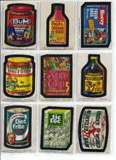1974 Topps Wacky Packages 10th Series 10 Complete Set 29/30 No Pupsi NM-