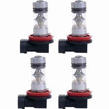 4PCS 100W White H11 6000K LED Fog DRL Daytime Driving Light Lamp bulbs US