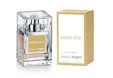 Jasmine, Orange Blossom, Patchouli arbre d'or Eau De Parfum 50ml By Simply Argan