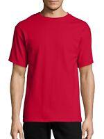 Hanes Men's Tagless Short Sleeve Tee, Deep Red, 3XL