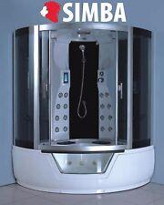 WHIRLPOOL BATH SHOWER CABIN HOT TUB BATHTUB Montecarlo SPA 150 x 150 cm