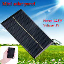 5V 1.25W Solar Panel Power Module For Light Battery Smart Phone Charger Mini