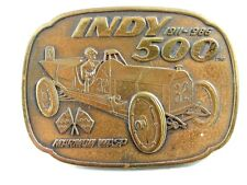 1911 - 1986 Indy 500 Marmon Wasp Belt Buckle 11012013