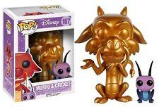 Funko Pop Disney - Mulan Mushu Et Cricket Version Gold 167 7111