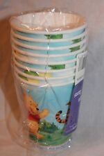 NEW WINNIE THE POOH DISNEY  8 CUPS   PARTY SUPPLIES