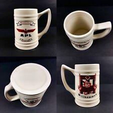Vintage APL Ltd Oil & Gas Octoberfest 1998 Willkommen Beer Mug Stein NOL TWRA
