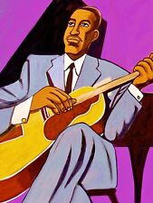 FREDDIE GREEN  PRINT poster jazz mr rhythm cd count basie band epiphone archtop